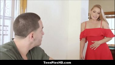 Big tit blonde teacher gets a lesson in fucking