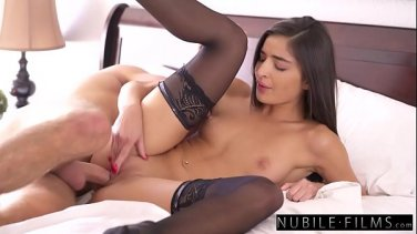 Slutty bitch Diamond Foxxx with big bubble booty takes a young guy's cock