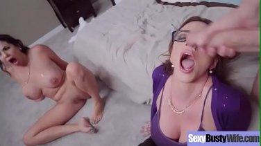 Mature Busty mom Alura Jenson seduces her honey teeny stepson
