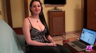 Movie star gets a massive pounding during the show