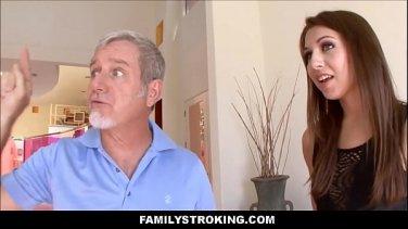 Naughty young japanese schoolgirl sharing penis