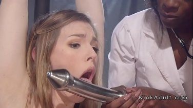 rammed anna bell peaks squirts as she fucks two dicks